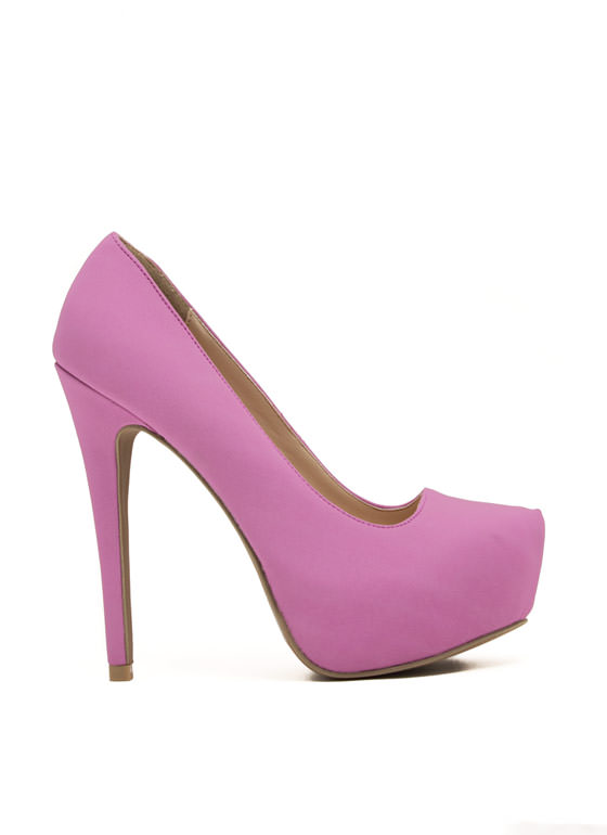 Always Classic Platform Pump ORCHID
