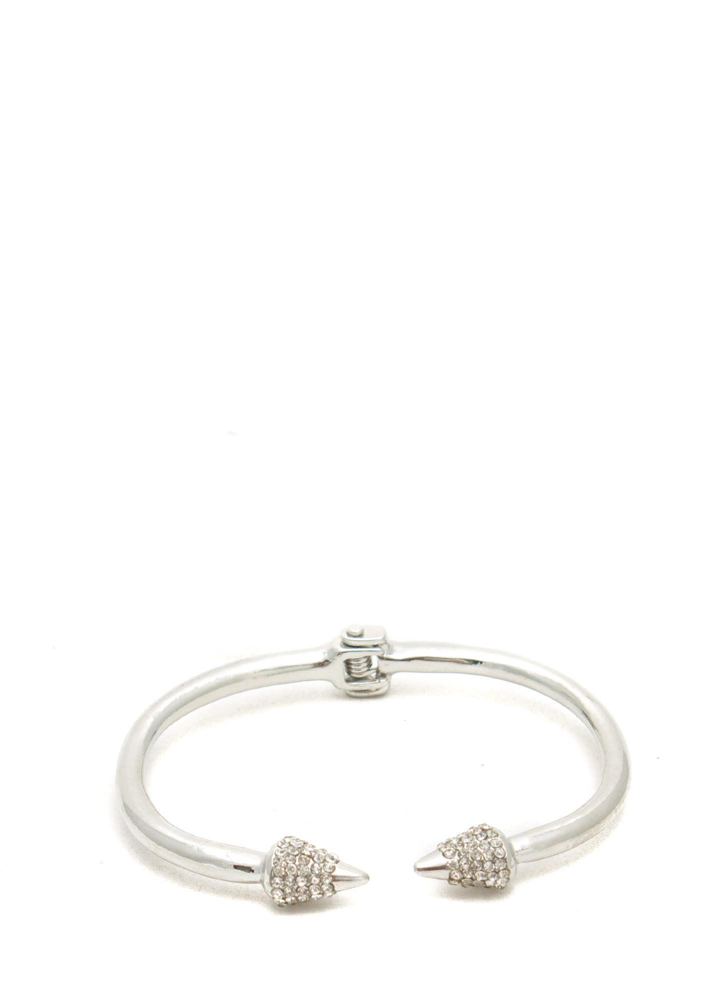 Spiked Bracelet Duo SILVER