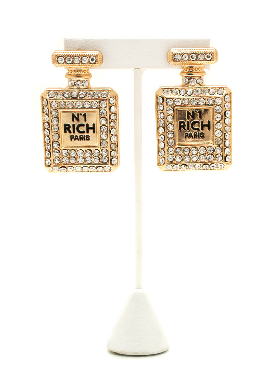 Smellin' Like Money Earrings GOLD