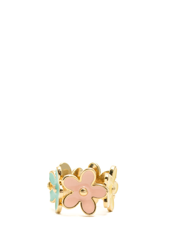 Multicolor Daisy Ring MULTI