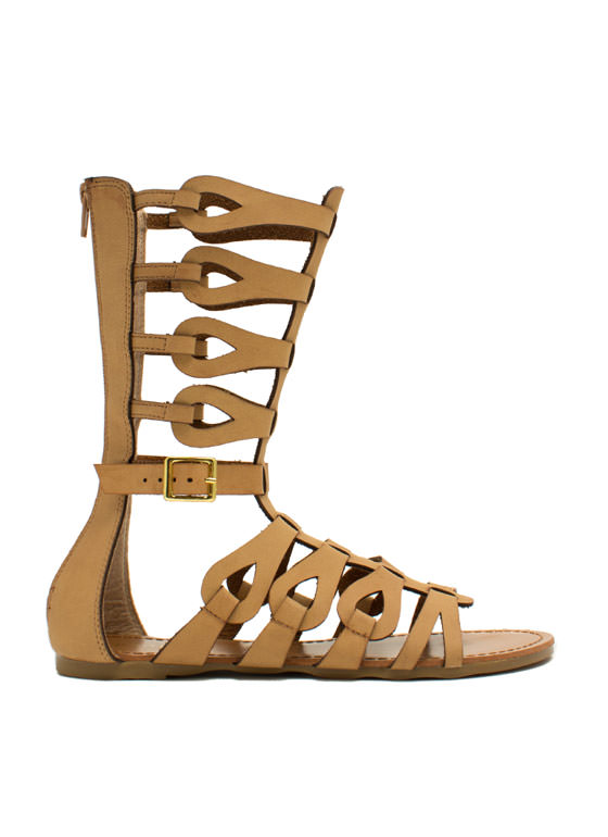 In The Loops Gladiator Sandals CHESTNUT