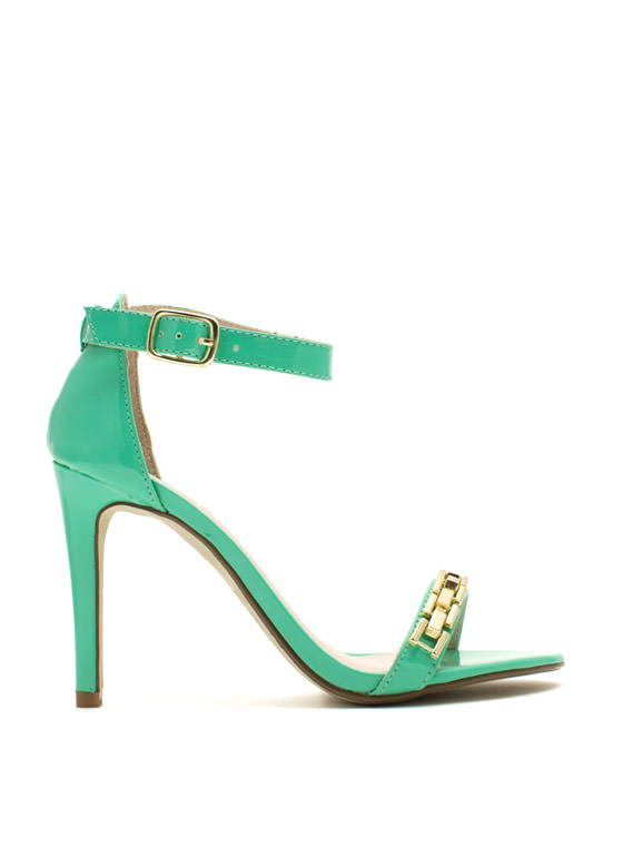 Single For A Chain-ge Platform Heels MINT