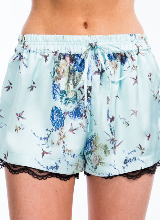Birds Of A Feather Shorts MINT