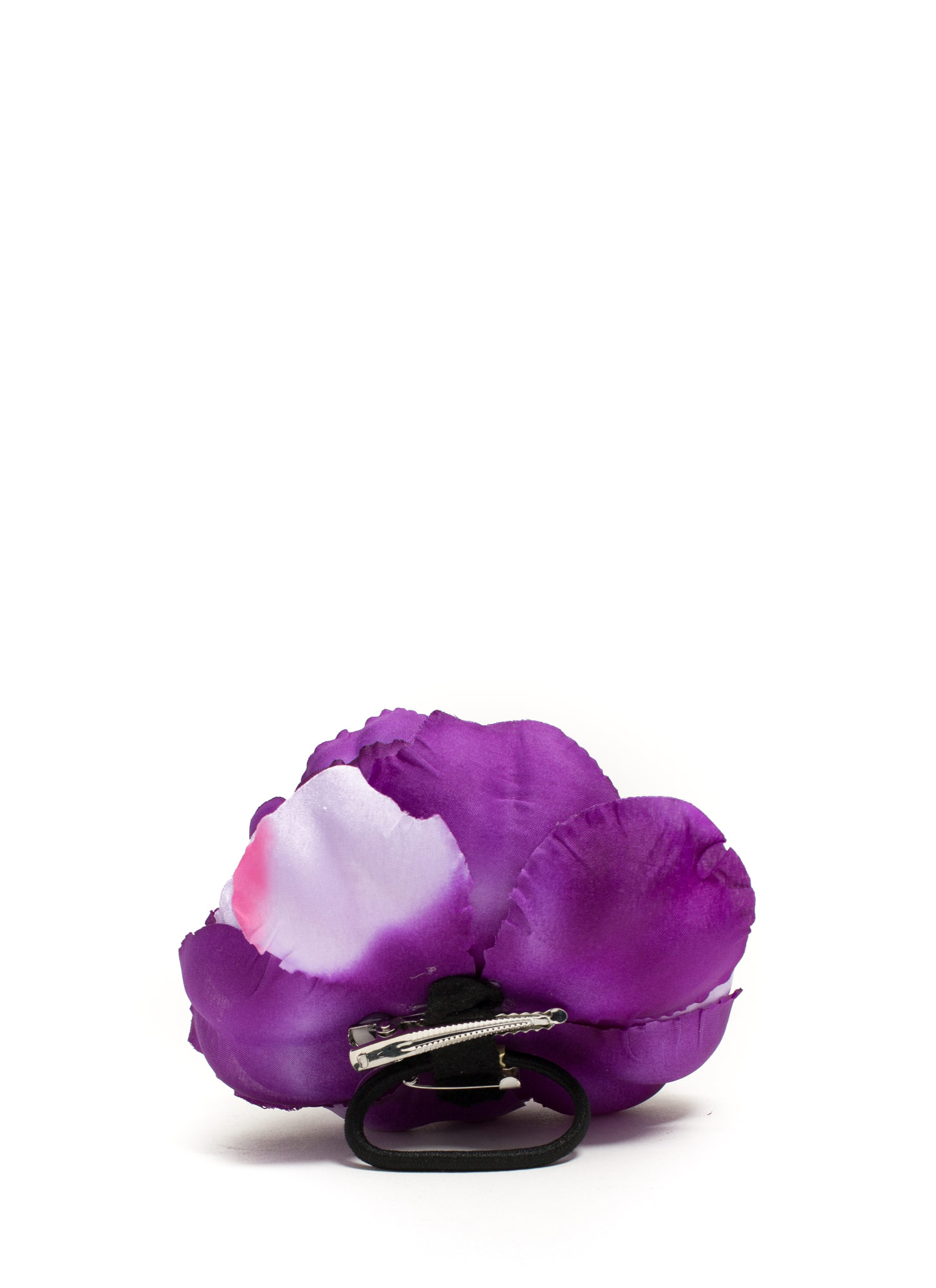 Oversized Flower Hair Accessory PURPLE