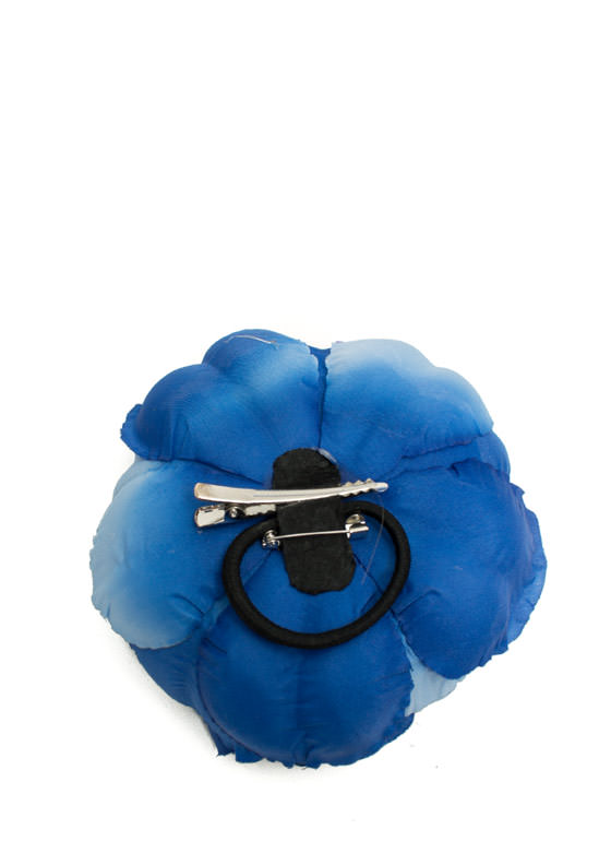 Oversized Flower Hair Accessory ROYAL