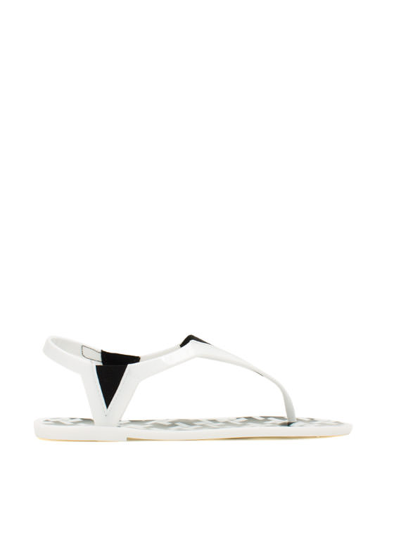 State Of The Dart Jelly Sandals WHITE