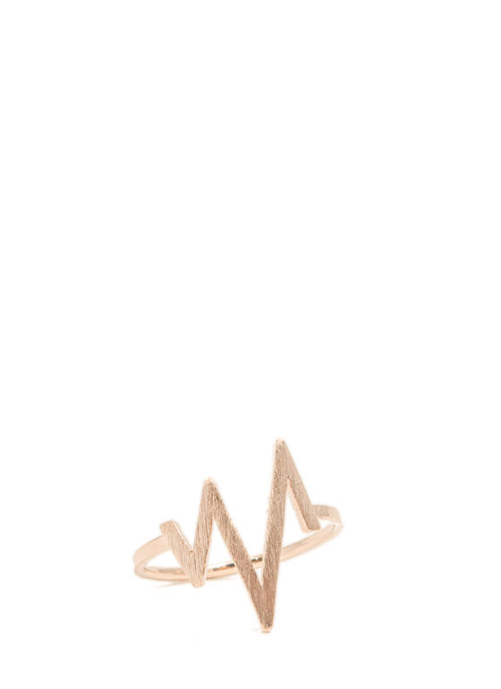 EKG Ring ROSEGOLD