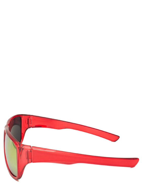 Color Me Perfect Sunglasses RED