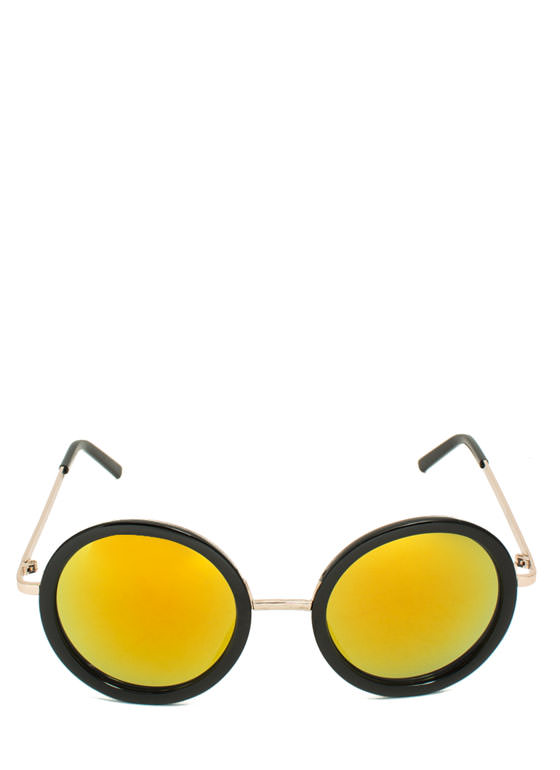 Round Of Applause Sunglasses BLACKORG
