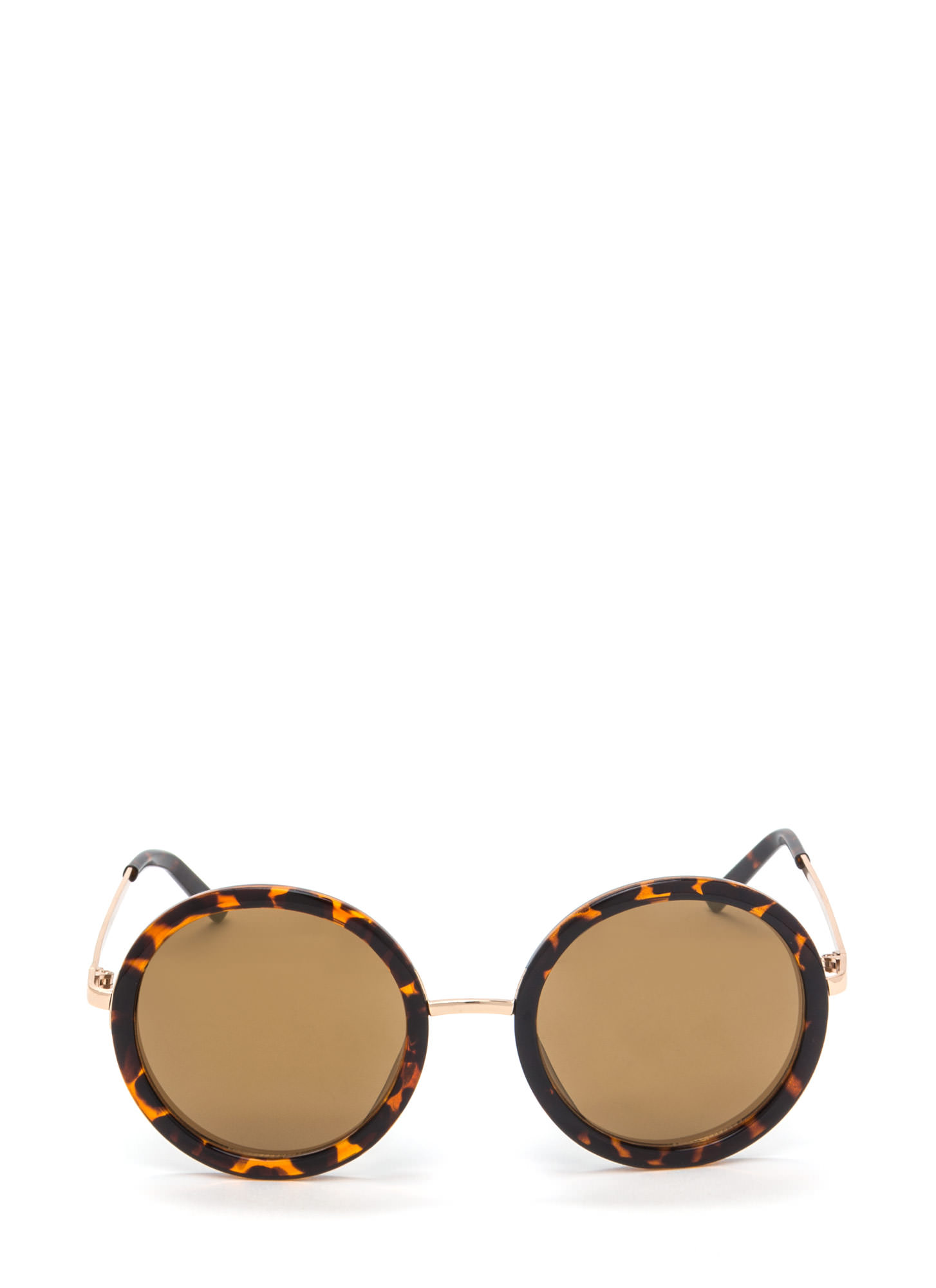 Round Of Applause Sunglasses BROWNTORT