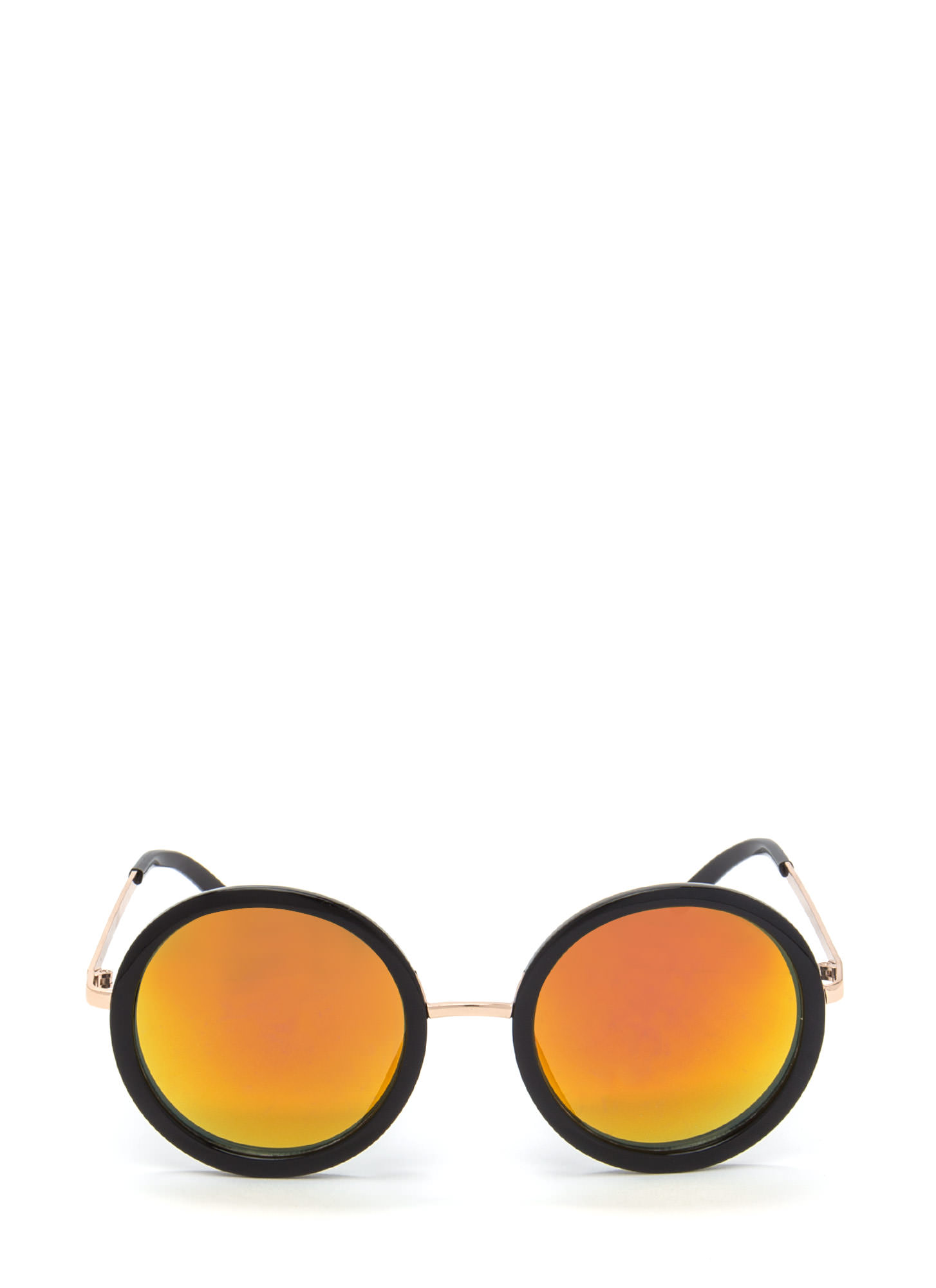 Round Of Applause Sunglasses ORANGEBLACK