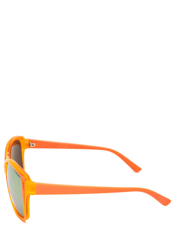 Pigment Stain Sunglasses ORANGE