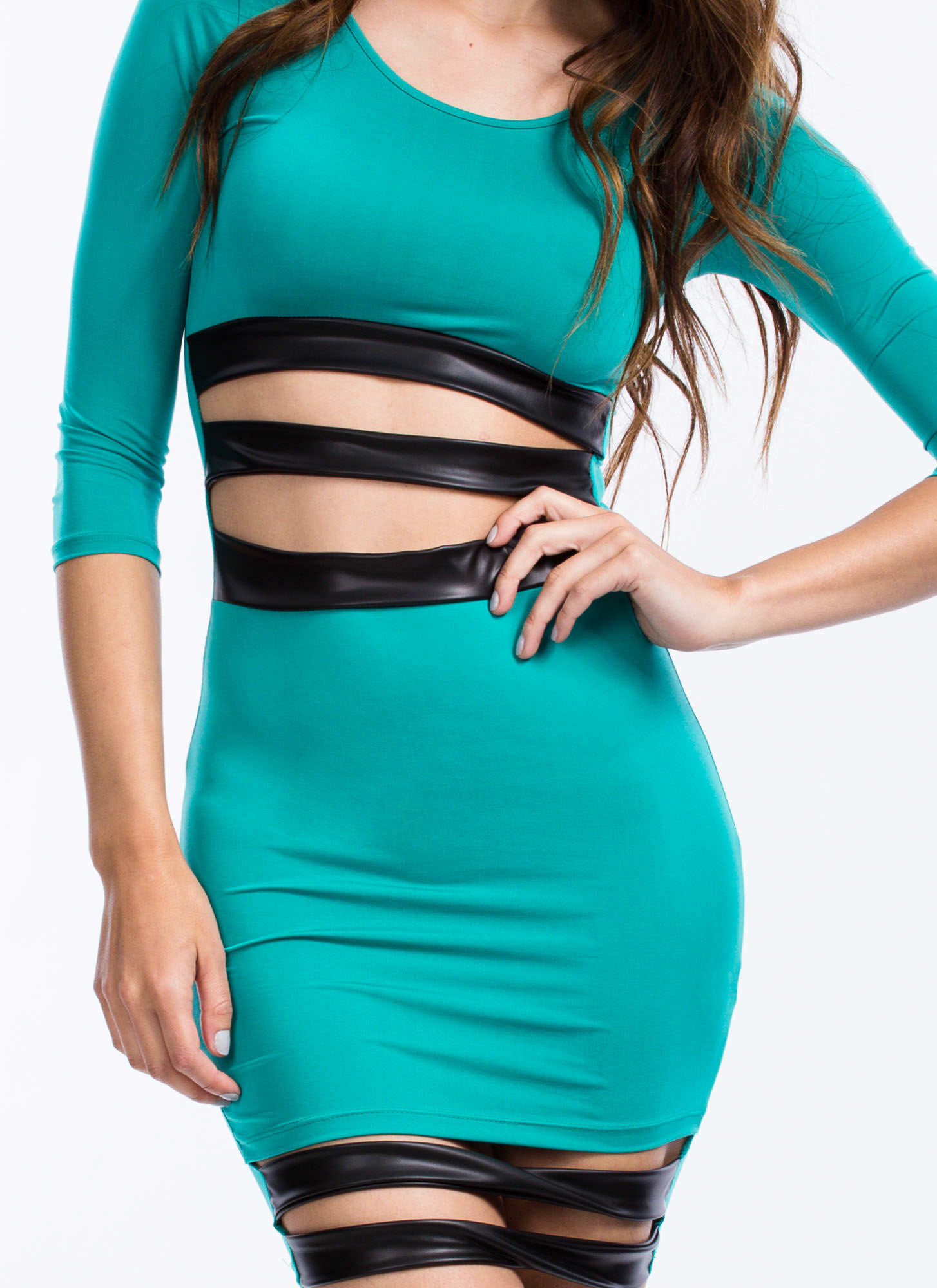 Sneak Peek Bodycon Dress JADE