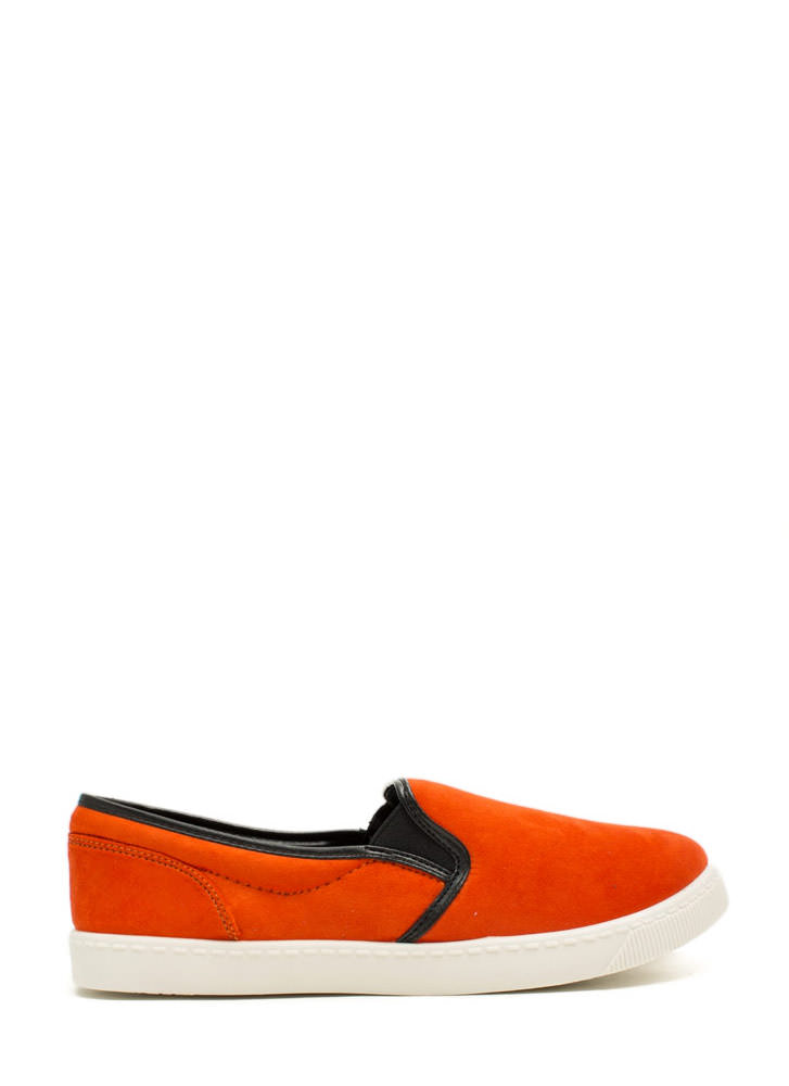 Round The Corners Skimmer Flats ORANGE