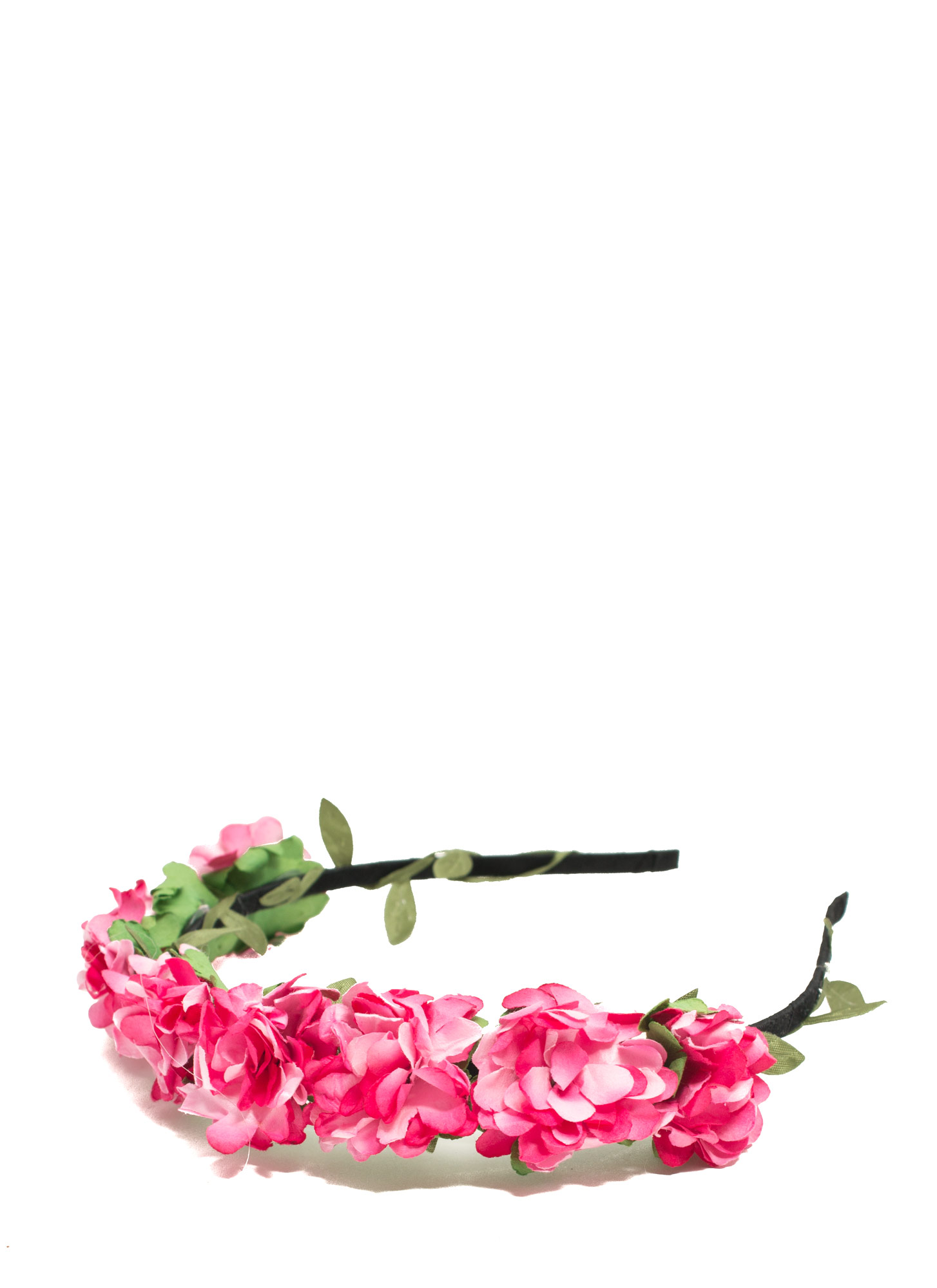 Dainty Floral Blossom Headband PINK