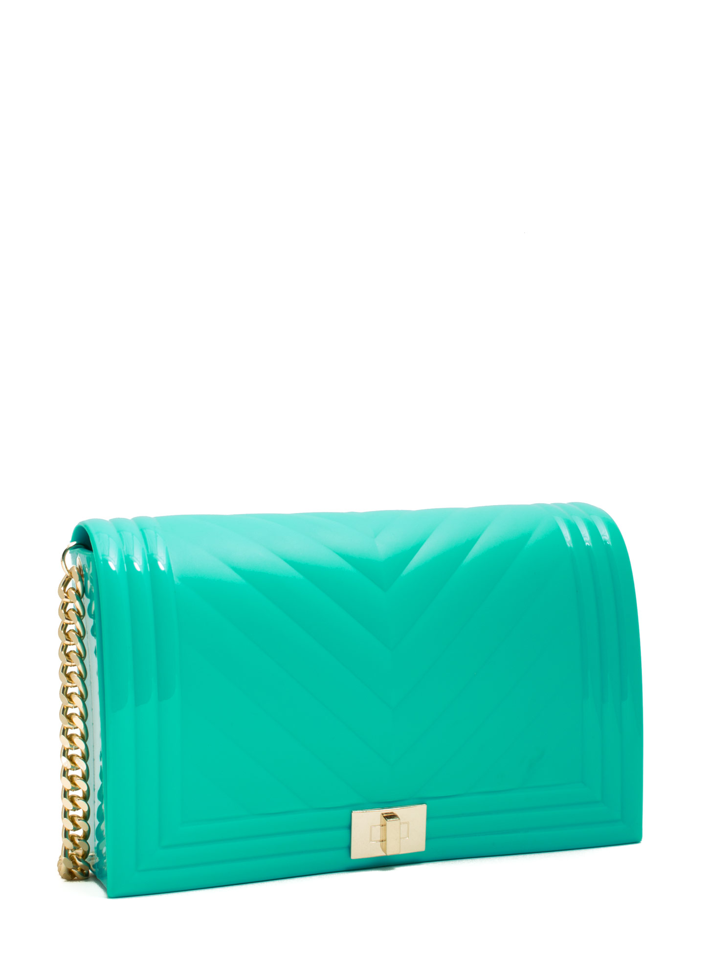 Chain Link Jelly Purse MINT