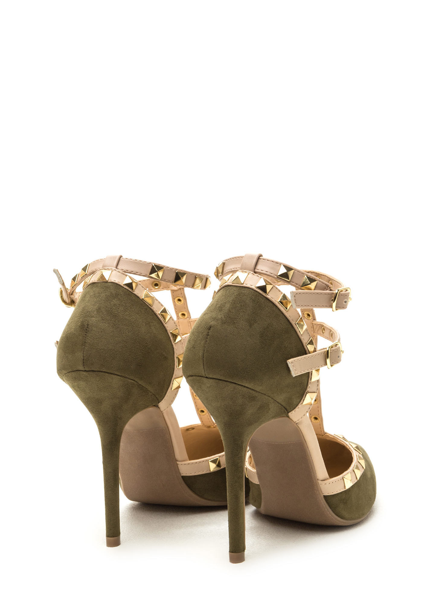 To The T Pointy Heels OLIVE