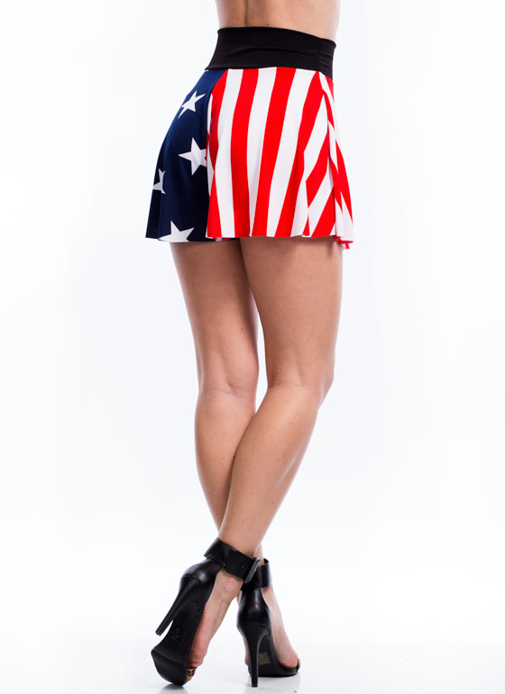 Salute Your Stars 'N Stripes Shorts  REDBLUE