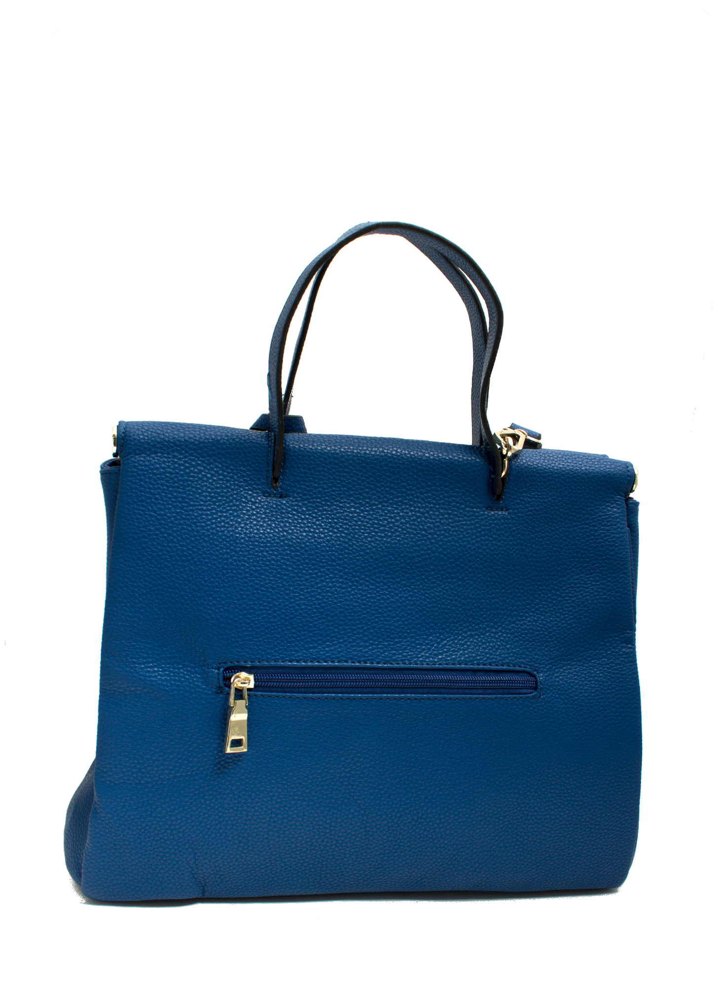 Under Lock N Key Structured Bag ROYALBLUE
