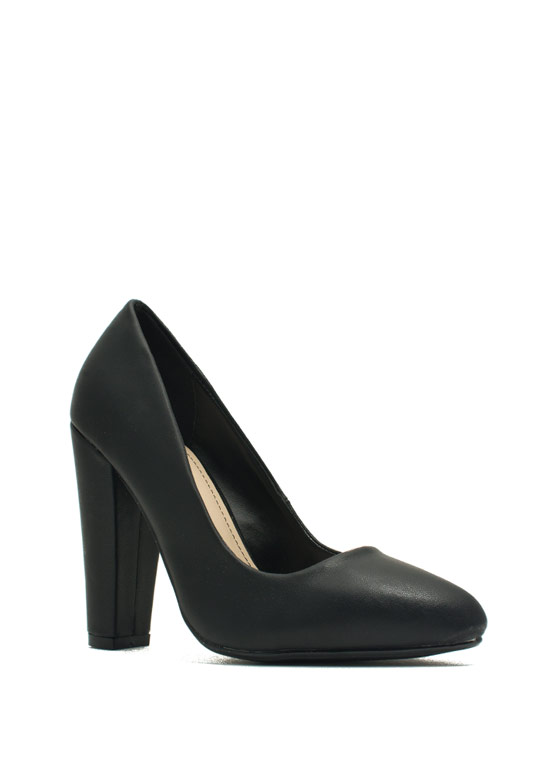 Classic Architectural Pumps BLACK
