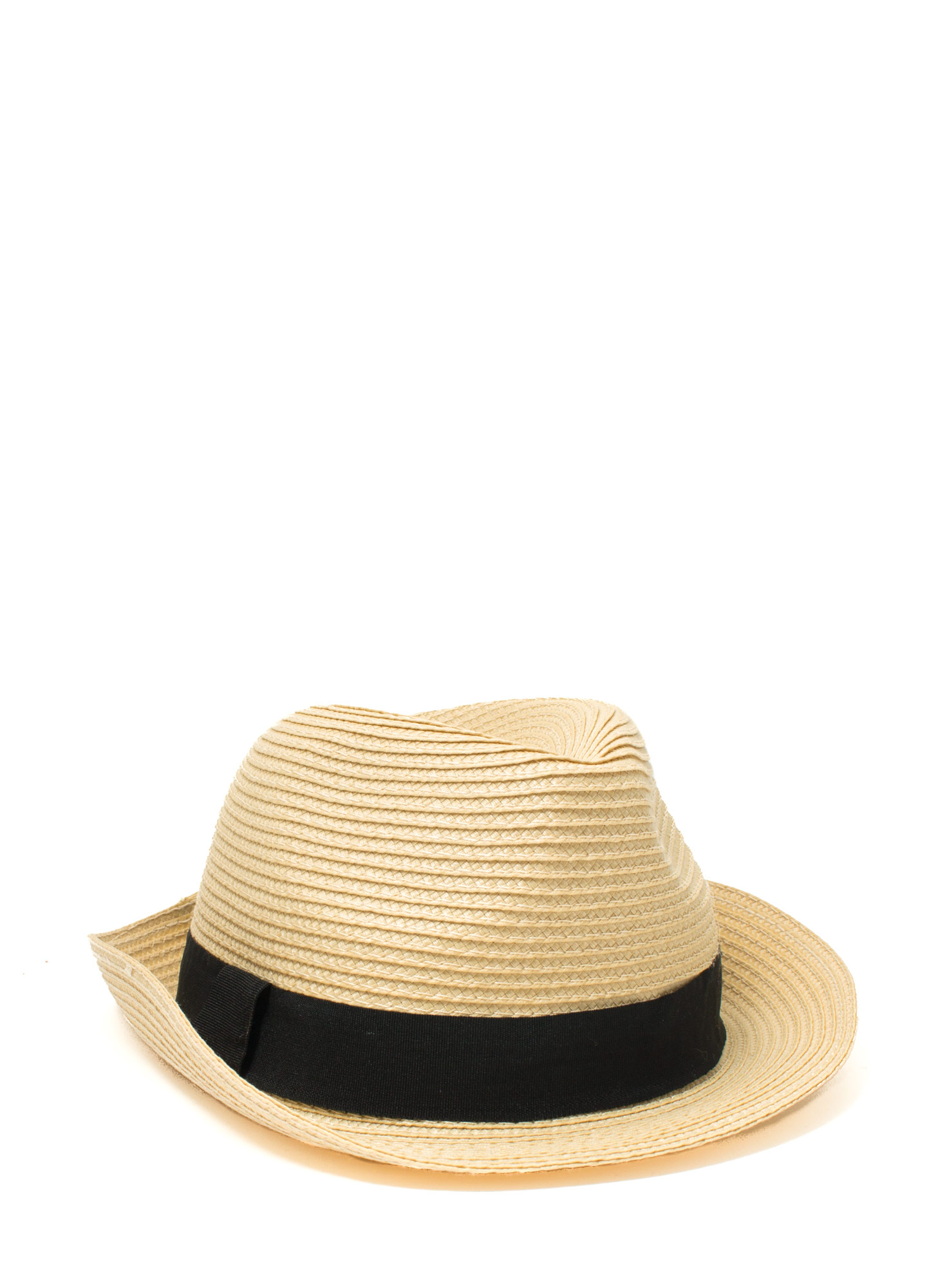 Banded Fedora Hat TAUPE