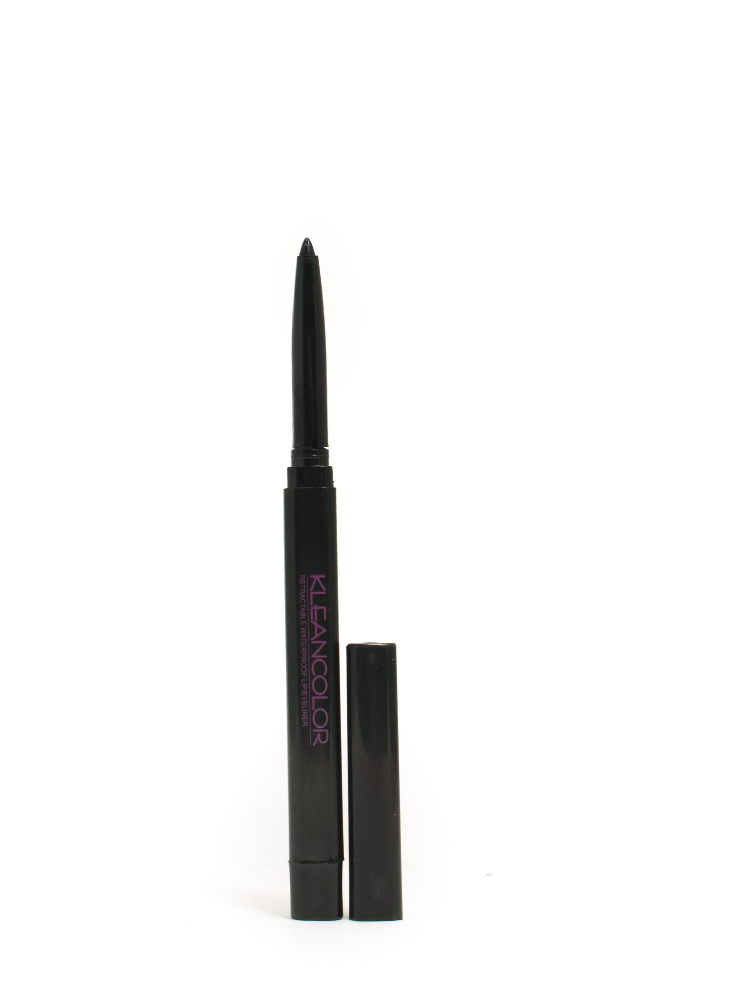 KleanColor Retractable Lip 'N Eye Liner BLACK