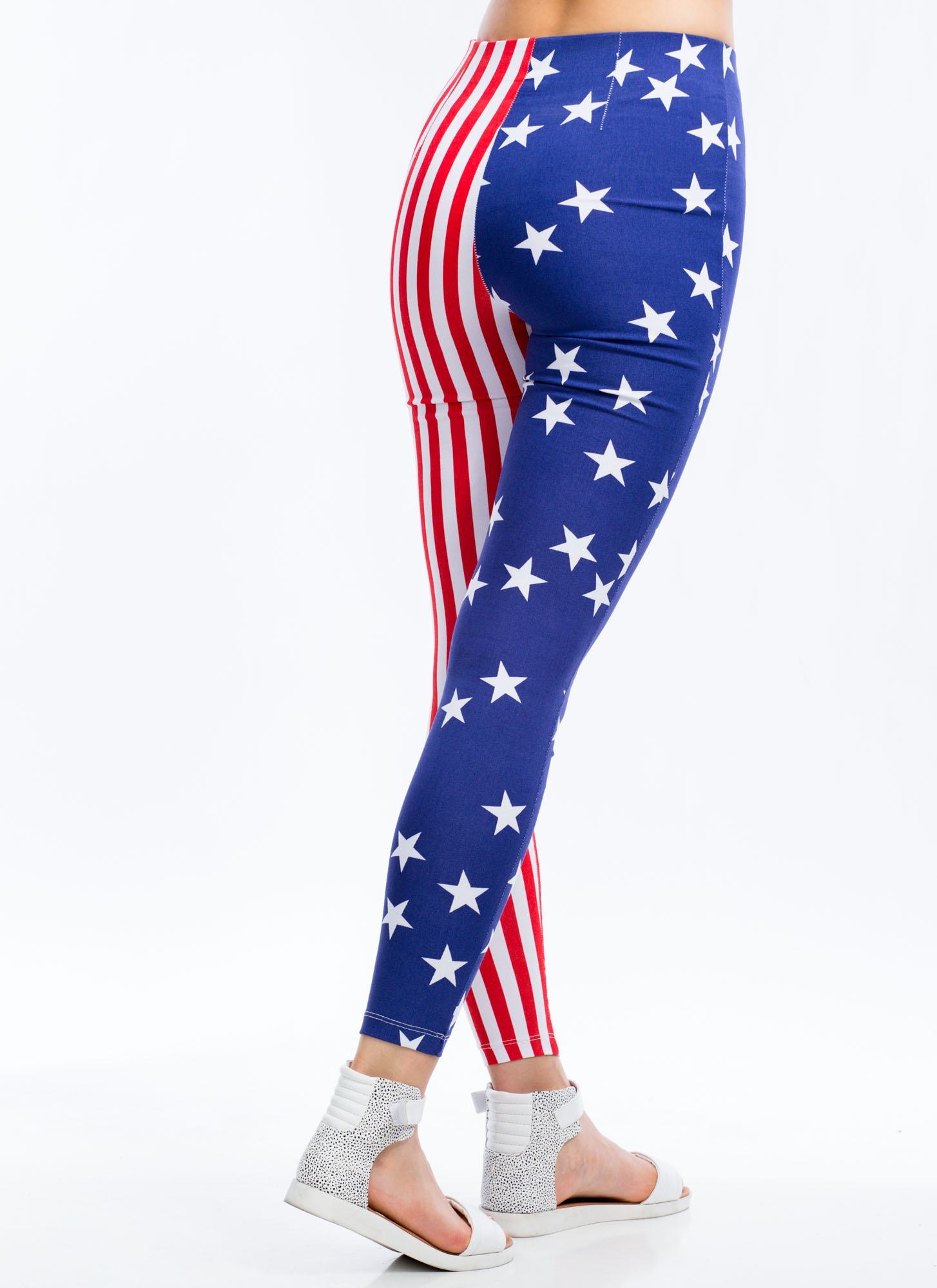Flagged Down Stars And Stripes Pants BLUEWHITE (Final Sale)