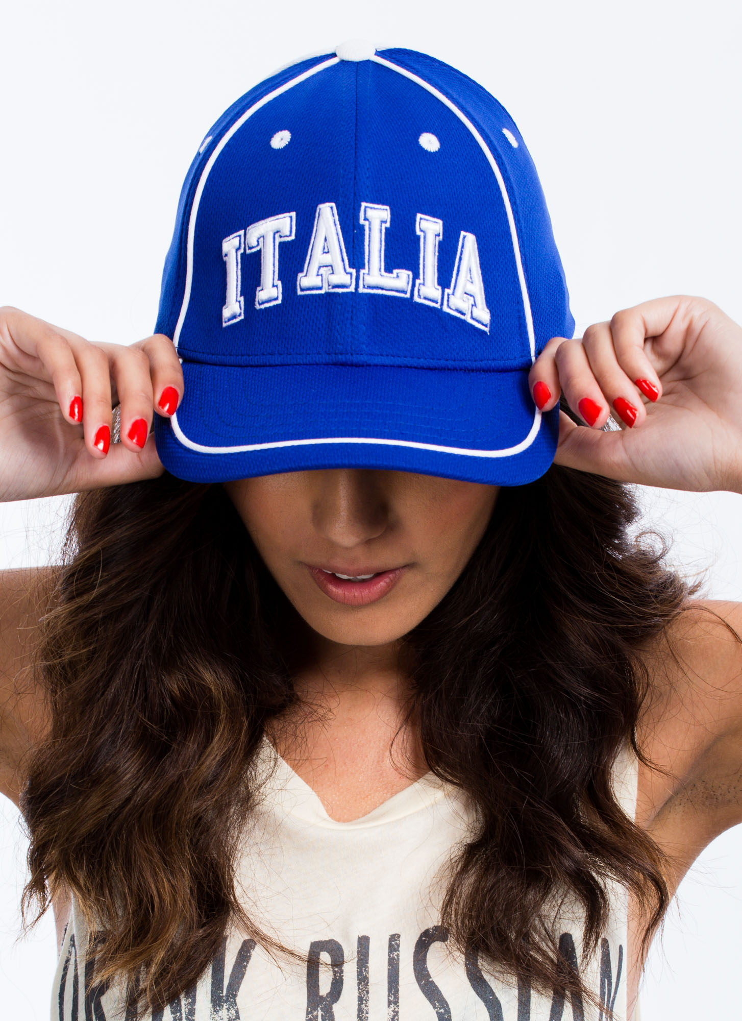 International Country Snapback Hat ITALIA