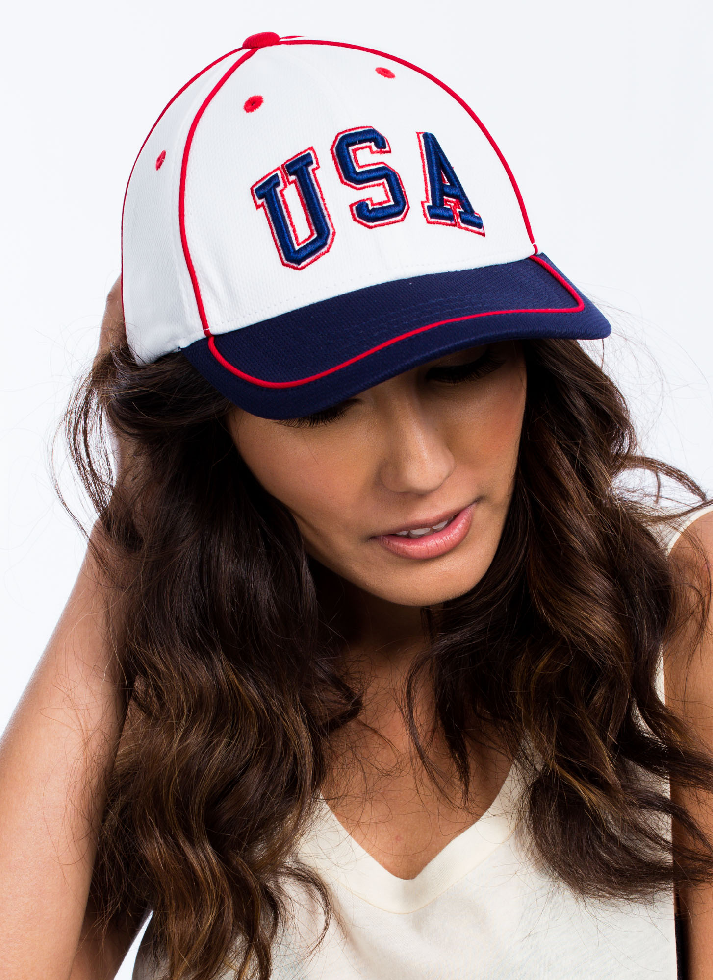 International Country Snapback Hat USA