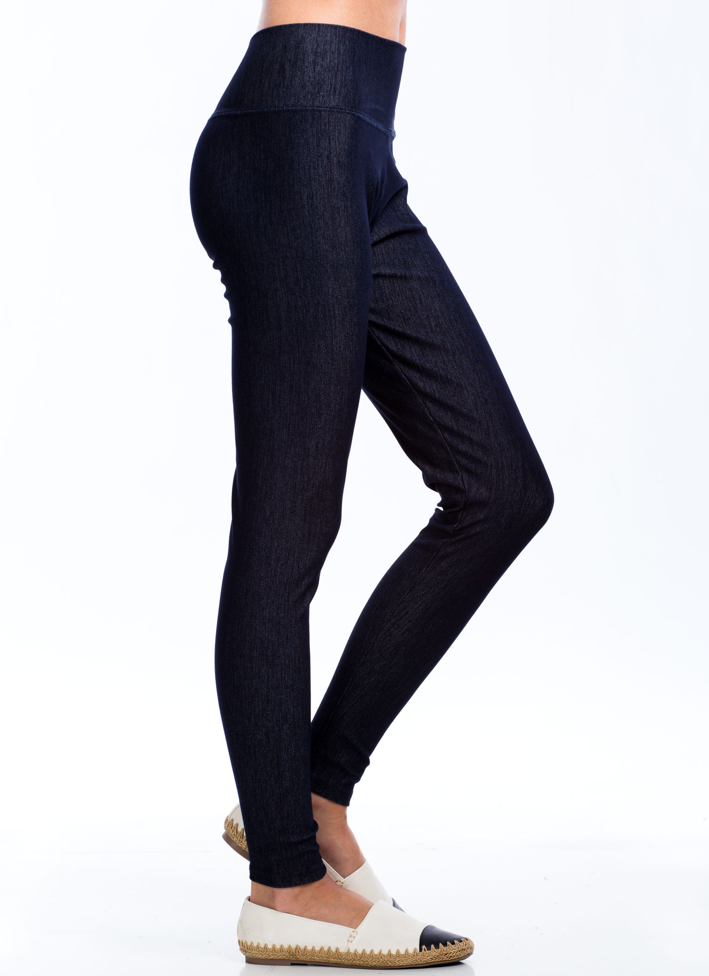 Denim Leggings BLUE