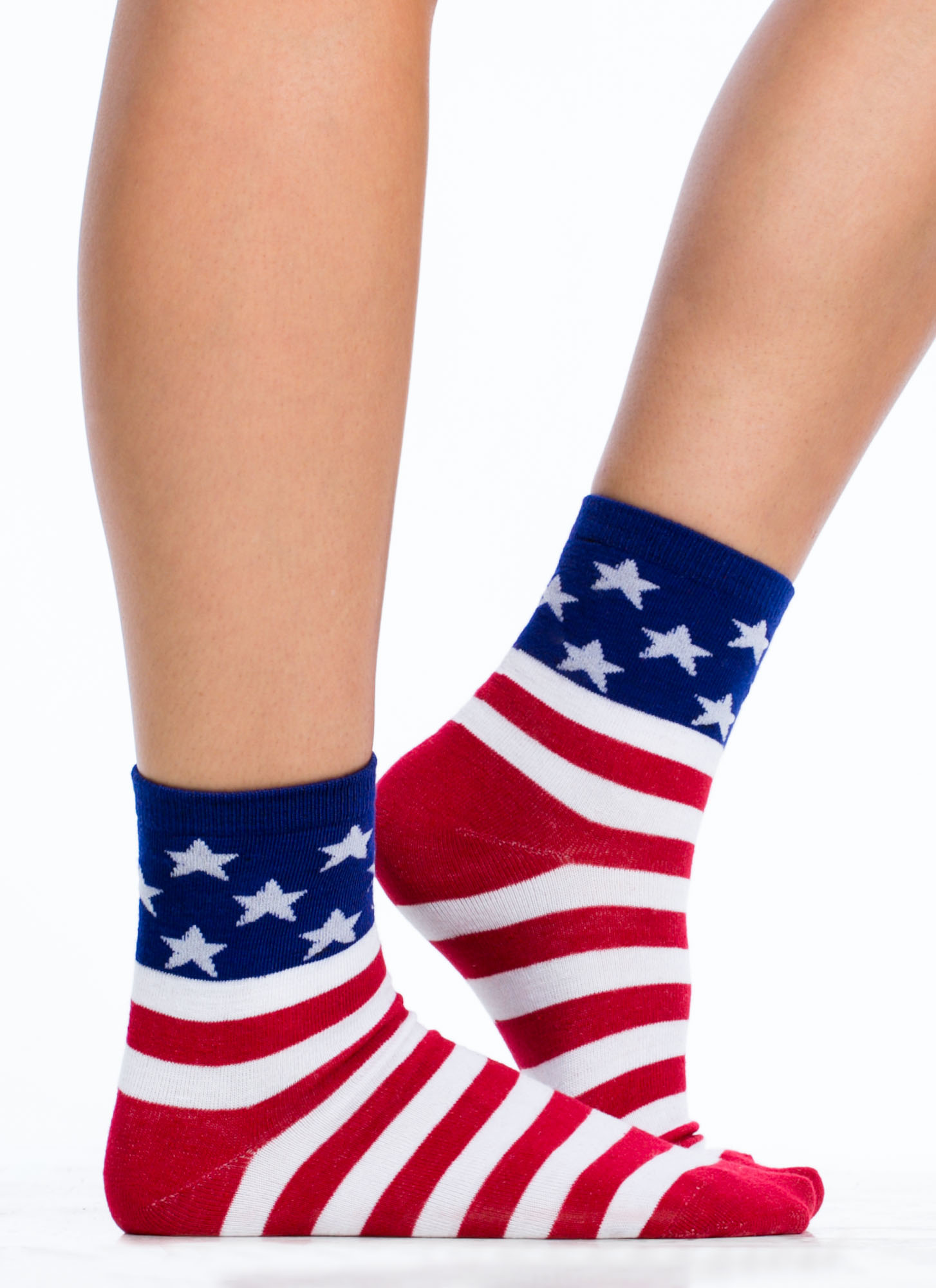 American Flag Socks REDNAVY (Final Sale)