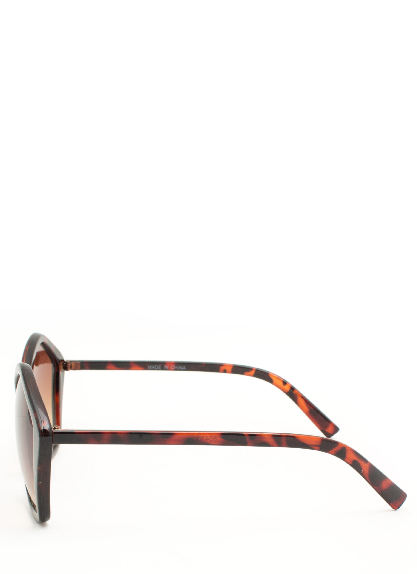 Pentagon Resin Sunglasses TORTOISE