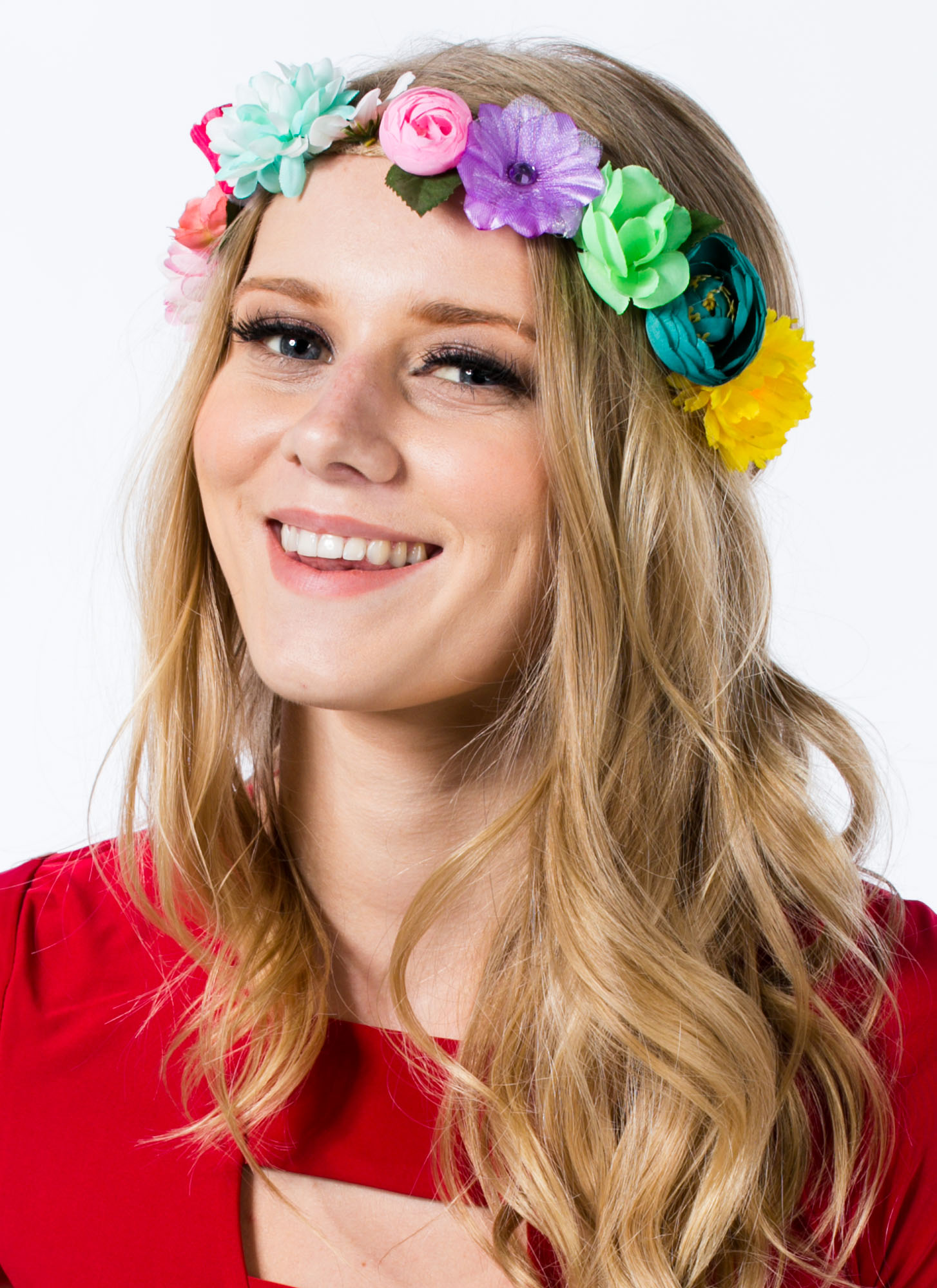 Floral Hemp Headband MULTI