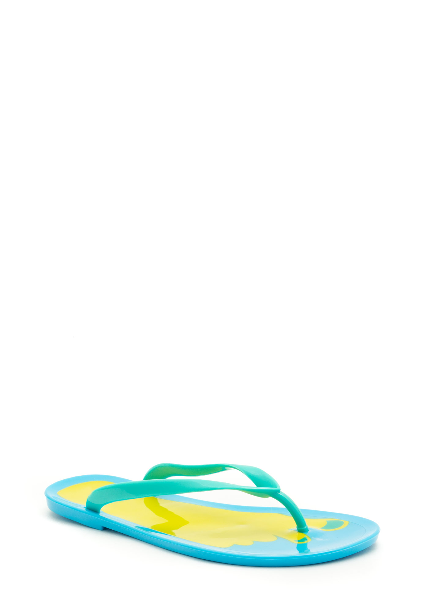 Jump In With Both Feet Thong Sandals SEAFOAM