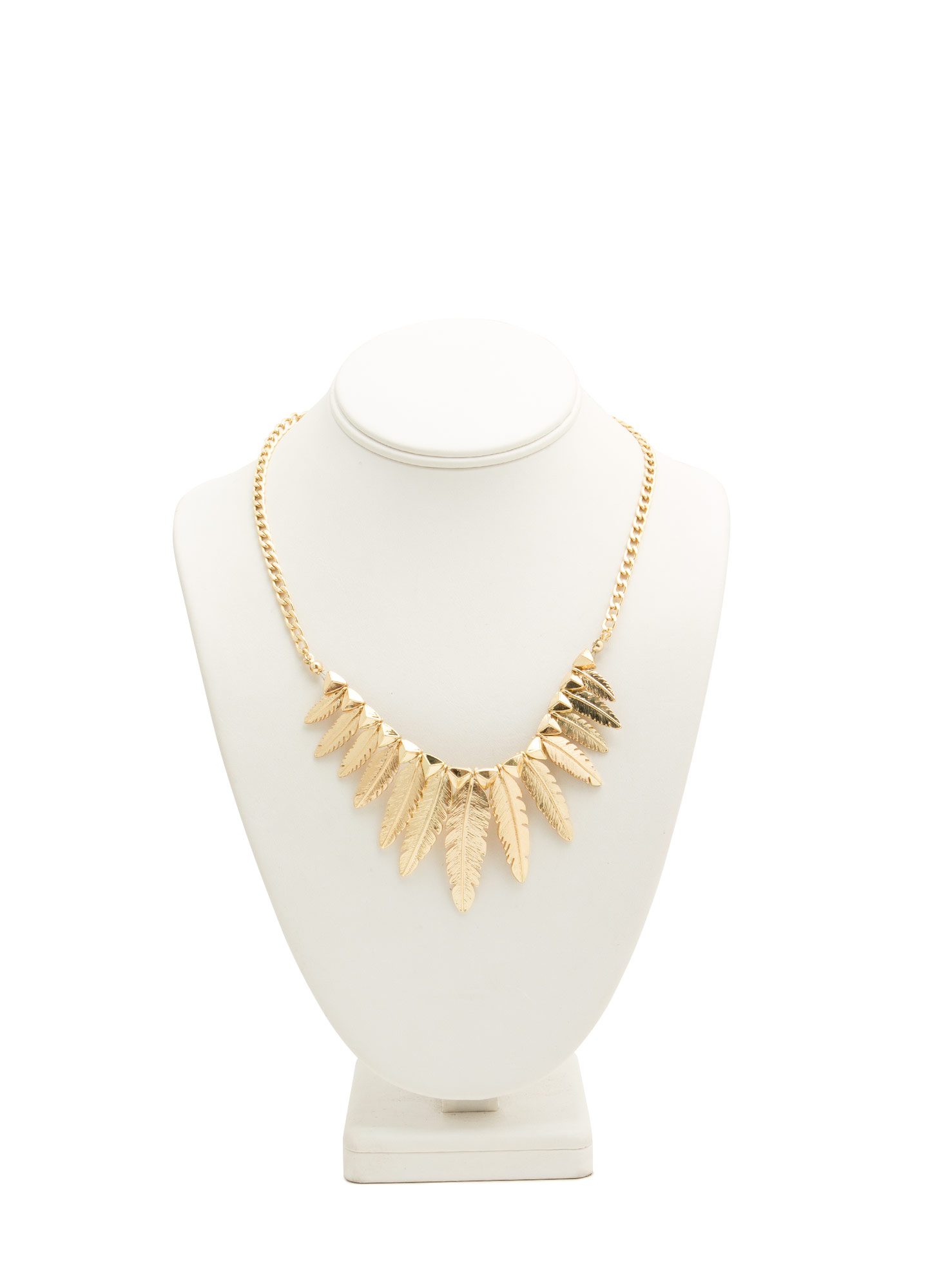 Birds Of A Feather Necklace GOLD