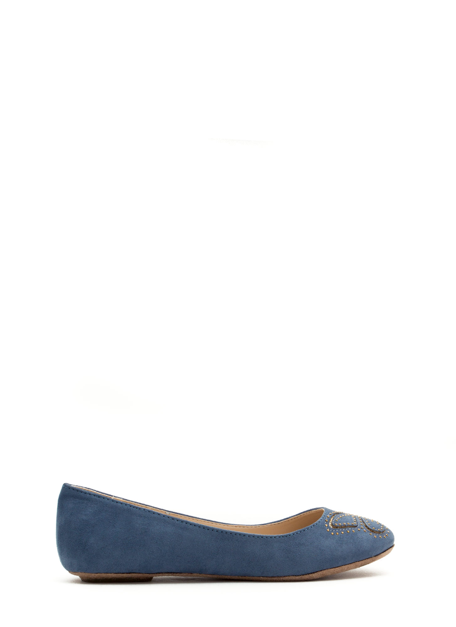 I'm So Butter-fly Flats BLUE