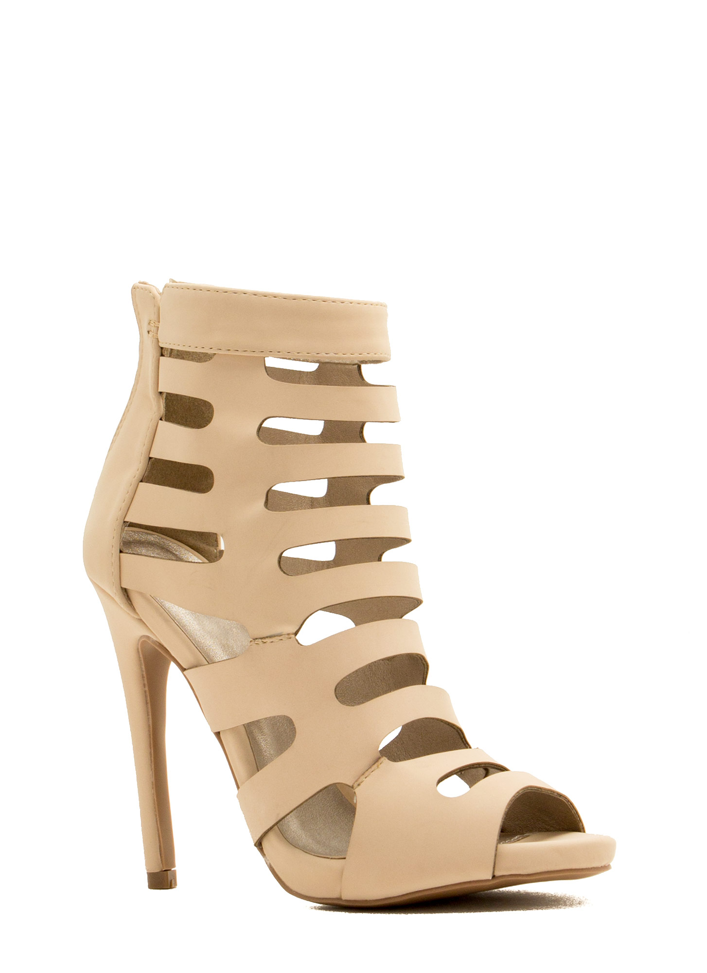Ladder To The Top Heels NUDE